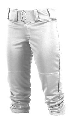 (2X Plus, White) - Worth Women's FPEX Plush Pant. Free Delivery