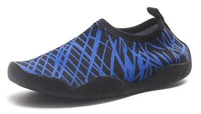 (10M US Toddler, Black and Blue) - ChezMax Outdoor Kids Barefoot Water Aqua