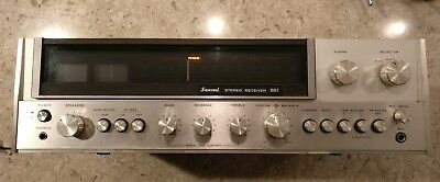 Vintage Sansui 881 Stereo Reciever Partially Tested, Works! - Offered As is