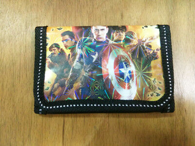 Movie Figure Marvel's The avengers Coin Money Pouch Bag Purse Wallet Kids Gift c
