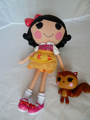 Lalaloopsy Doll - SNOWY FAIREST with pet squirrel