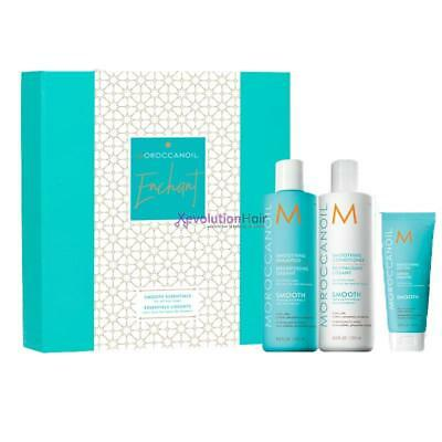 Moroccanoil Kit Smooth shampoo conditioner lotion
