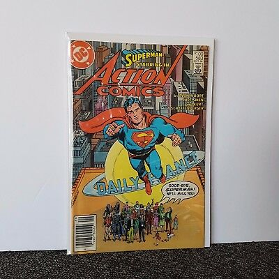 Action Comics Whatever Happened To The Man Of Tomorrow #2 Moore Superman Dc