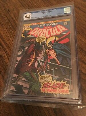 Tomb of Dracula #10 CGC 6.5 - 1st Appearance of Blade the Vampire Slayer 10 App