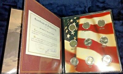 United States 100 Years of the Nickel Commemorative Book