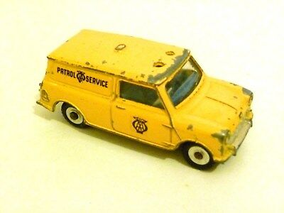 Dinky Toys Yellow Mini AA Patrol Service Delivery Van # 274 With Spun Hubs