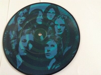 """Foreigner: BLUE MORNING BLUE DAY ATLANTIC RECORDS UK 7"""" PICTURE DISC SINGLE"""