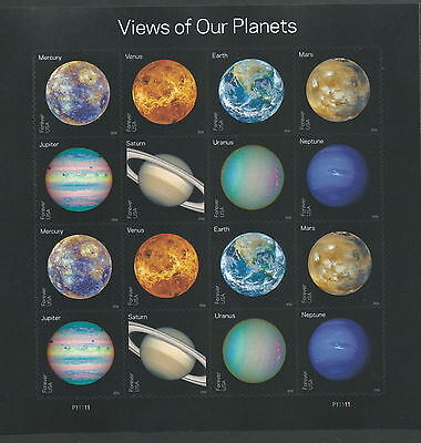 """Stamps, US Scott 5069 - 5077 Our Planets """"Forever Stamps."""""""