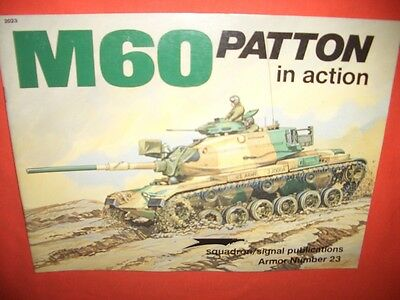 Squadron Signal 2023 Armor Number 23, M60 PATTON in action