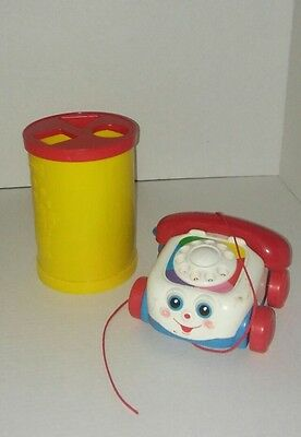 Fisher Price Shape Sorter & Chatter Telephone