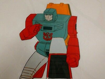 The Transformers G1 Windcharger animation production cel w/o background