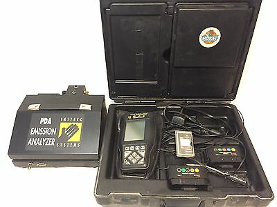 Interro PDA 2000 Engine Analyzer Emissions Tester/Extras Matco