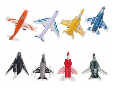 Set Of 4 Model Diecast Airplanes & Aeroplanes Vehciles Kids Model Toys