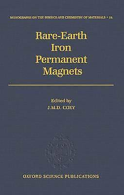 Rare-earth Iron Permanent Magnets by Oxford University Press (Hardback, 1996)
