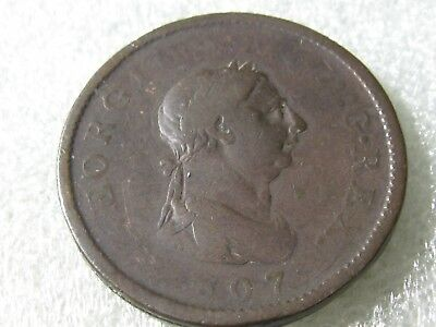 Uk   1807  Penny   1   Coin