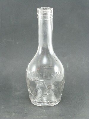 Bottle antique snowfree Absinthe Dutruc fils and co. Large Dallas Coat of arms