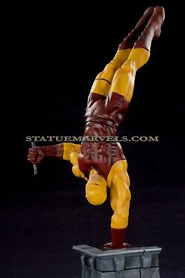 Hard Hero Daredevil Yellow Costume Statue Only 375 Made! not Bowen or Sideshow