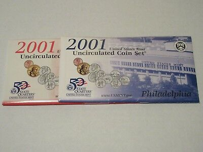 2001  United States Uncirculated Mint Set