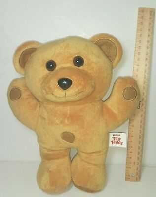 Arnotts Tiny Teddies Teddy plush soft toy doll Biscuit character bear