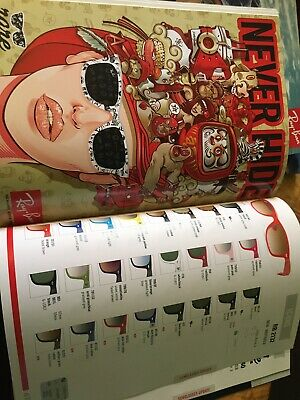 "2010 ""NEVER HIDE"" Ray-Ban Catalog 83 Pages"