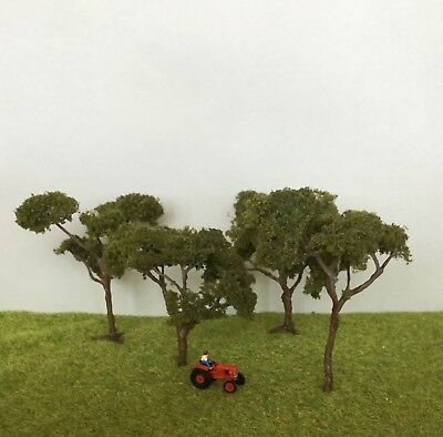 N Scale Coolabah Gum Trees x4