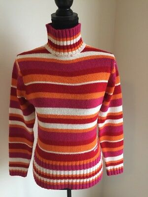 Ripcurl Girl knitted jumper. Multicoloured. Size 12.