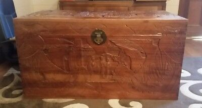 Large camphor chest