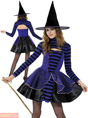 Girls Teen Dark Fairy Witch Costume Halloween Party Fancy Dress Outfit Witches  sc 1 st  PicClick UK & GIRLS TEEN DARK Fairy Witch Costume Halloween Party Fancy Dress ...