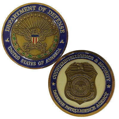 Defense Intelligence Agency - USA Challenge Coin  (1.58inch)