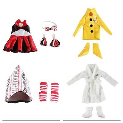 Elf On The Shelf Compatible Outfit Raincoat Or Dressing Gown. See Pics For More