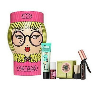 Benefit Cosmetics PINKY GALORE Limited-Edition All-In-One 4 Piece Makeup Kit