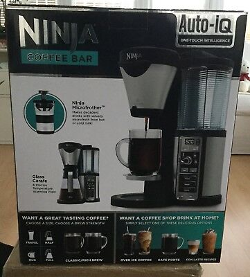 Ninja Coffee Bar Filter Coffee Machine + Glass Carafe with Hotplate - CF060UK