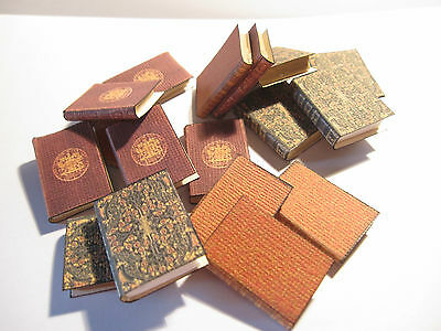 4 Dolls House Miniature  Books Set 1
