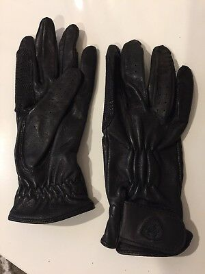 Women's Ariat Leather Riding Gloves Size 6