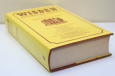 Wisden Cricket Hardback Book Anthology 1940 -1963.