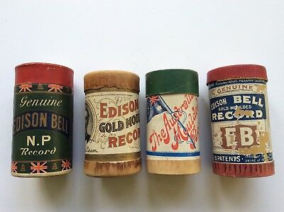 Vintage Edison And Australian Cylinder Records