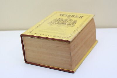 Wisden Cricketers Almanack 1984 Hardback Book.