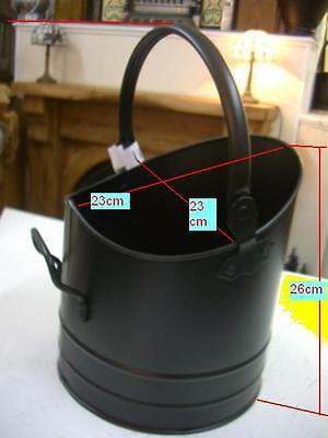 Coal Scuttle  BLACK  -MED- was £25.00 NOW  £8.95
