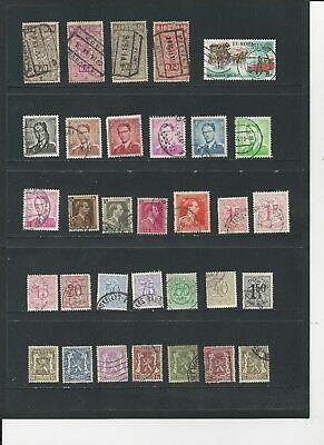 BELGIUM - COLLECTION OF USED STAMPS (3 PHOTOS) - #BEL1abc