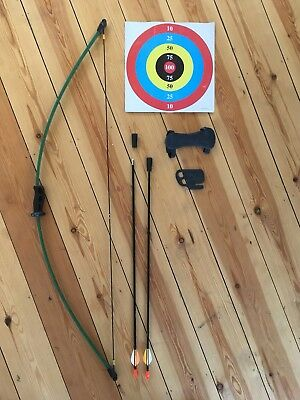Bear Archery Wizard Bow And Two Arrows With Targets