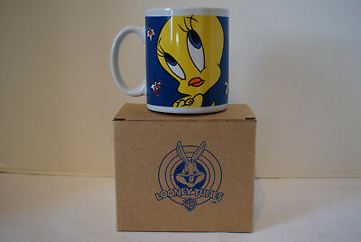 Tweety Bird Coffee Mug Looney Tunes 1998 Avon Products 11oz Stoneware Gibson