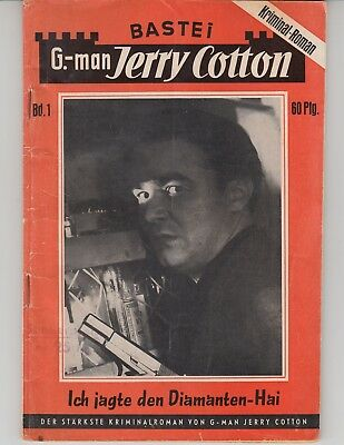 Jerry Cotton  Nr. 1  (Zust. 2-)