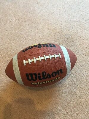 Wilson Indestructo American Football