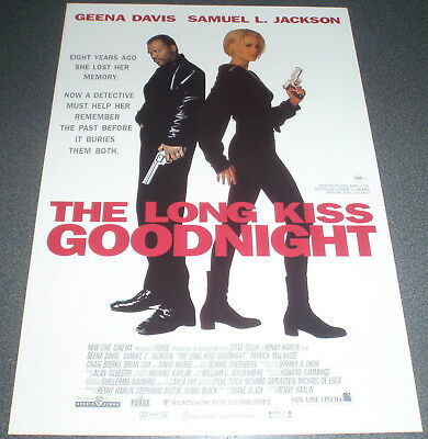 Promotional Movie Flyer : A4 : LONG KISS GOODNIGHT, The
