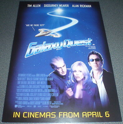 Promotional Movie Flyer : A4 : GALAXY QUEST