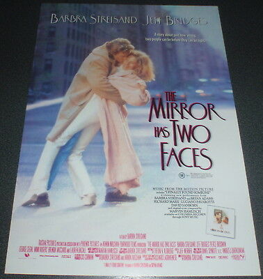 Promotional Movie Flyer : A4 : MIRROR HAS TWO FACES, The