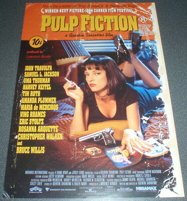 Promotional Movie Flyer : A4 : PULP FICTION : Quentin Tarantino
