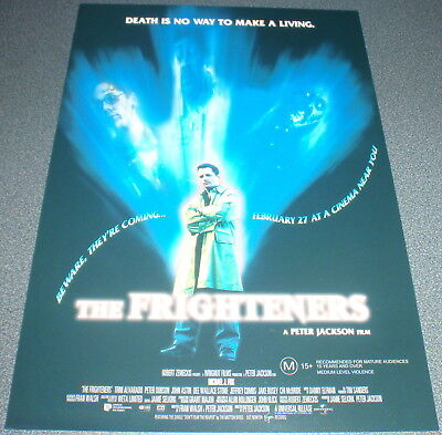 Promotional Movie Flyer : A4 : FRIGHTENERS, The : Michael J Fox