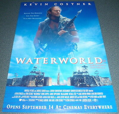 Promotional Movie Flyer : A4 : WATERWORLD : Kevin Costner