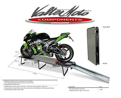 Box Stand Gp With Ramp Pedana Box Gp Con Scivolo Valtermoto Valter Moto Ar19